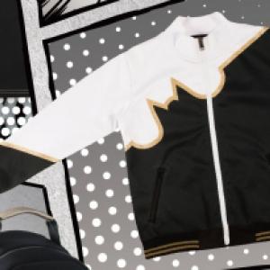 JL X Dorian Ho Track jacket (for 110cm kids)